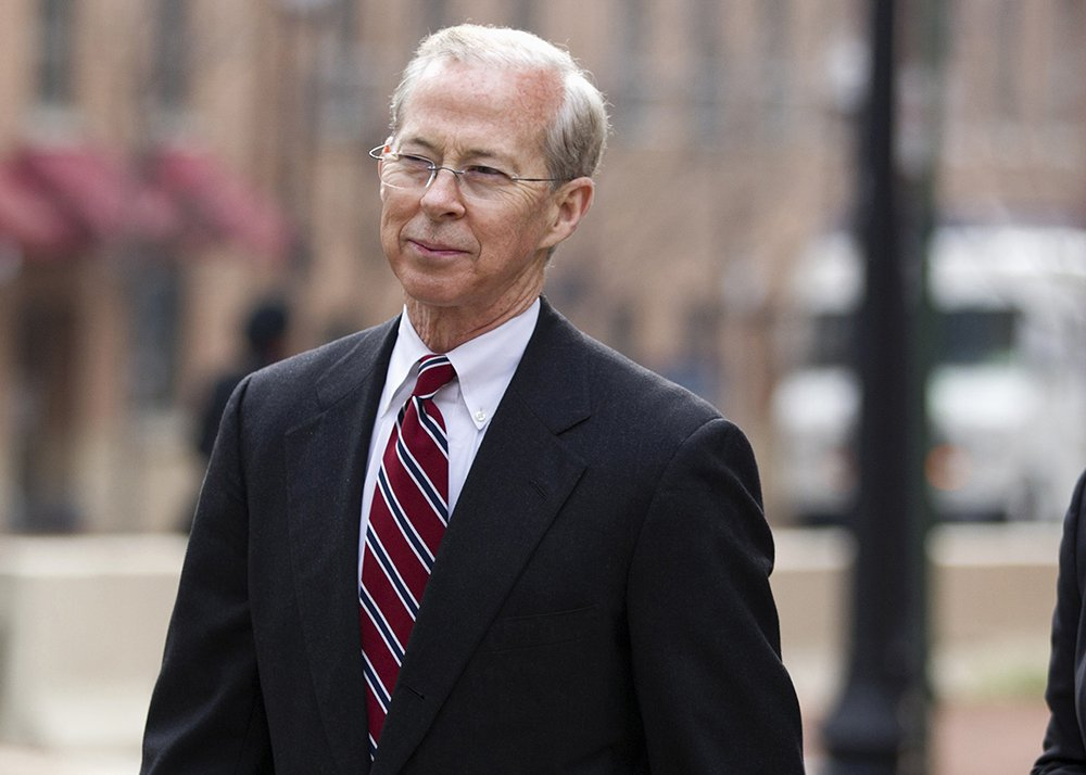 Dana Boente, then-First Assistant U.S. Attorney for the Eastern District of Virginia, leaves federal court in Alexandria, Va., in 2012.