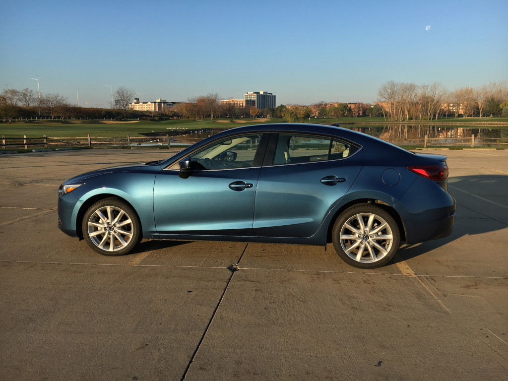 The Mazda3's base price is $23,145; as tested, $26,045.
