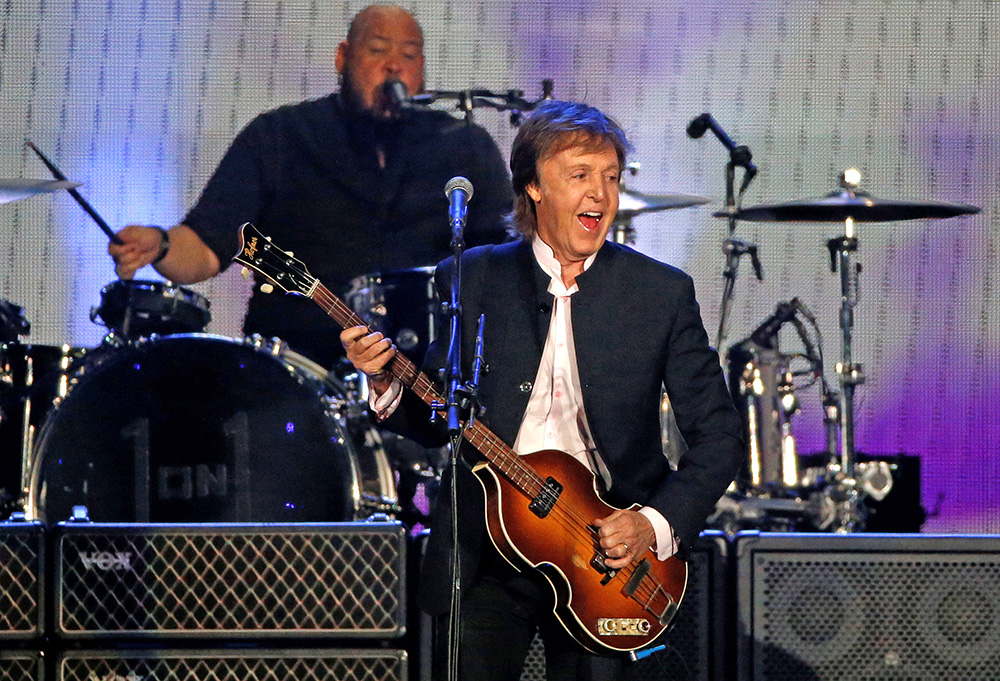 Paul McCartney performs at the Desert Trip music festival at Empire Polo Club in Indio, California, on Oct. 8, 2016.