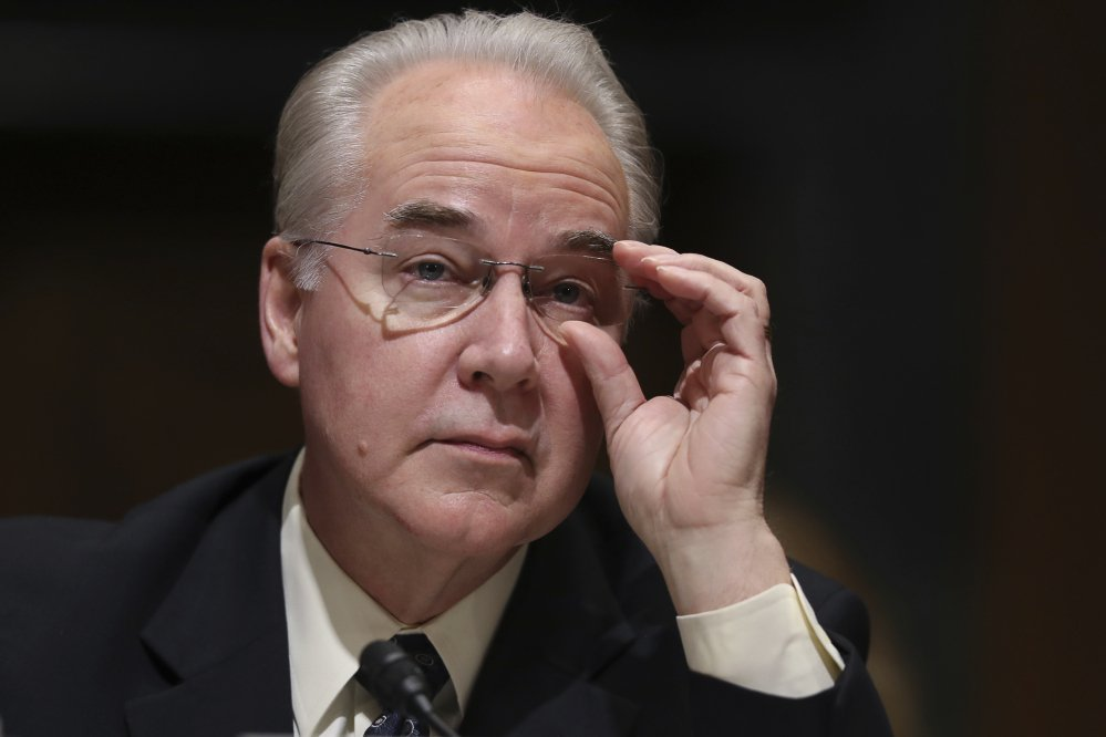 Health and human services secretary-designate Tom Price testifies at his confirmation hearing before the Senate Finance Committee on Jan. 24. Republicans are ready to confirm Price, who is expected to help lead the Republican drive to erase and replace the Affordable Care Act.