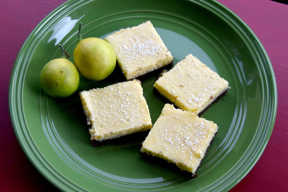 Amp up the flavor of lemon bars and give the crust some chocolate love.