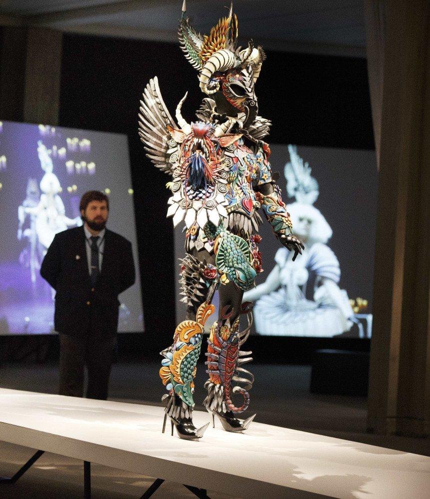 "The  ""WOW – World of Wearable Art"" show at the Peabody Essex Museum in Salem, Mass., runs through June 11. The exhibit features outfits from a New Zealand-based contest."