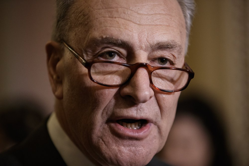 Senate Minority Leader Charles Schumer of N.Y.
