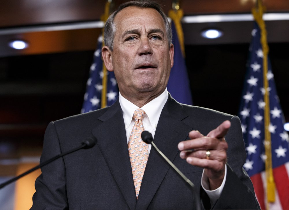 Former House Speaker John Boehner of Ohio predicted Thursday that a full repeal and replacement of