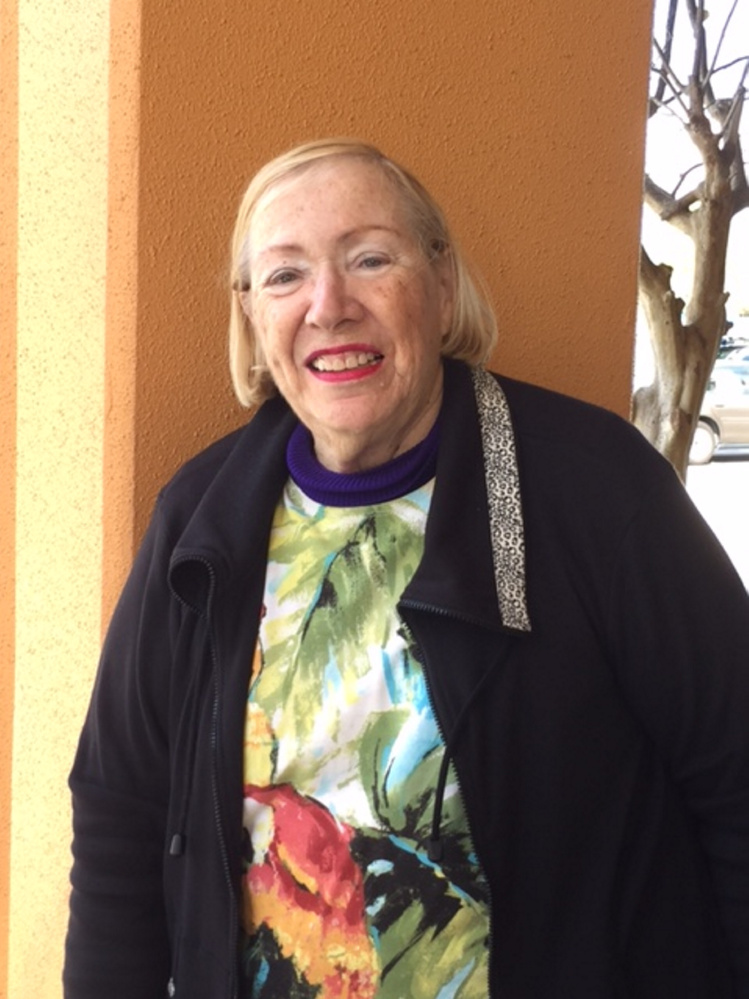Waterville native Zeta Levine lives in West Palm Beach, Florida, but keeps abreast of everything happening in Waterville, especially downtown revitalization efforts by the city and Colby College. Levine is a cousin to Pacy and Ludy Levine, who owned Levine's clothing store on Main Street.