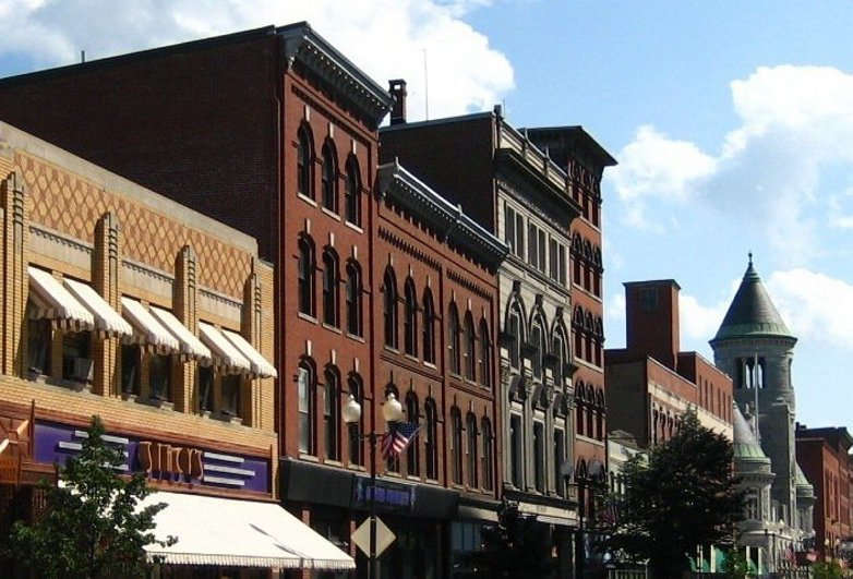 A large number of buildings in downtown Augusta are now listed on the National Register of Historic Places, which will allow developers to qualify for tax credits.