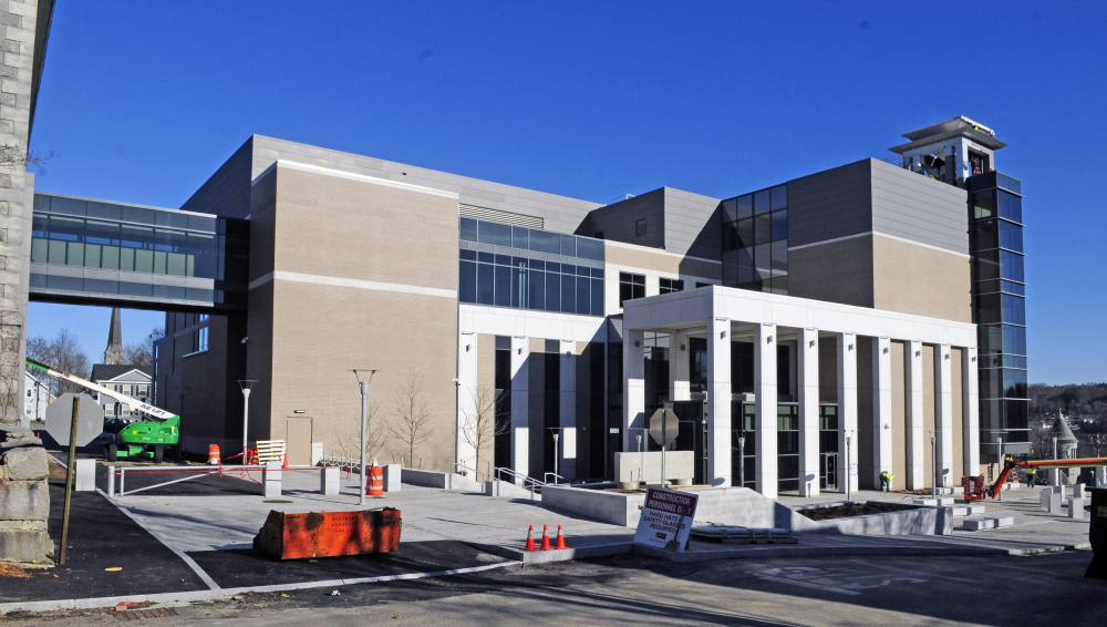 The Capital Judicial Center in Augusta was closed early Monday because of a frozen pipe.