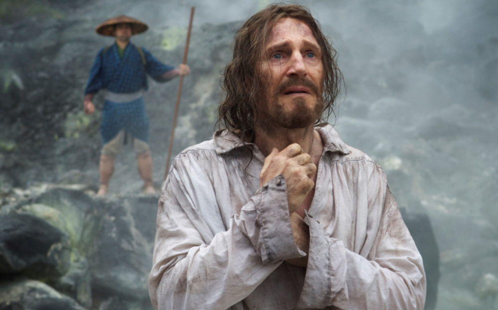 """Liam Neeson is Father Ferreira in """"Silence."""""""