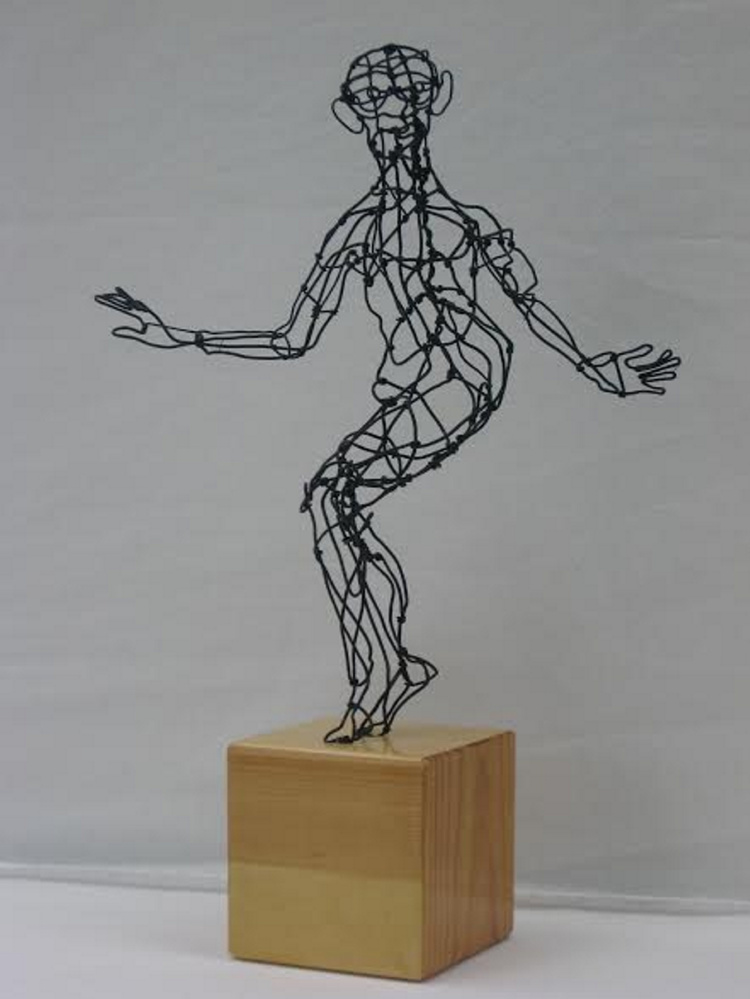 Don and Eileen Kerr will conduct a Second Sunday Wire Sculpture  workshop from 2 to 4 p.m. Sunday, Feb. 12, at Harlow Gallery, 160 Water St., Hallowell.