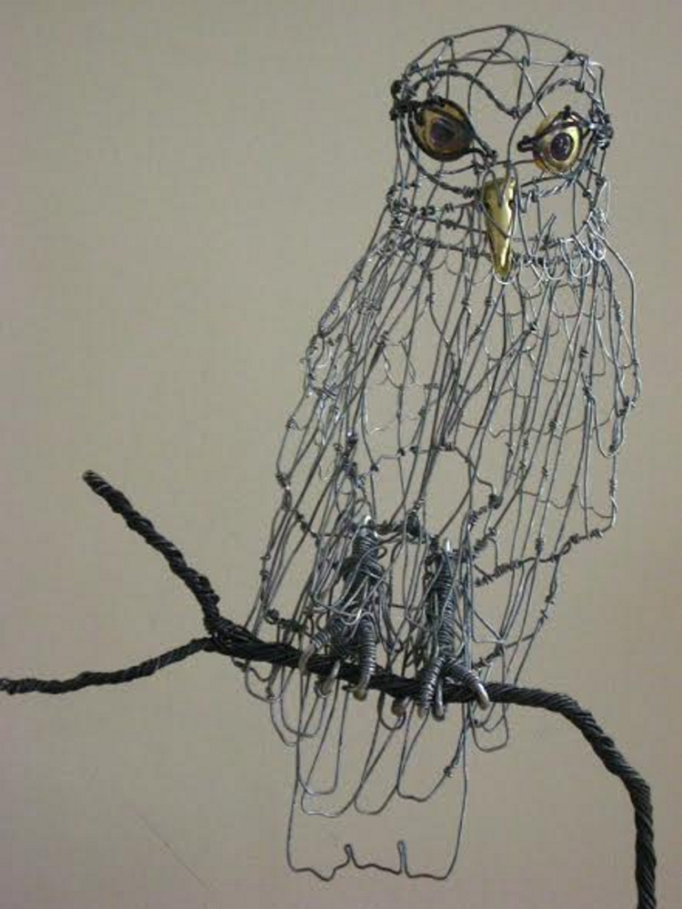 A Second Sunday Wire Sculpture  workshop is scheduled from 2 to 4 p.m. Sunday, Feb. 12, at Harlow Gallery, 160 Water St., Hallowell. Don and Eileen Kerr will conduct the workshop.