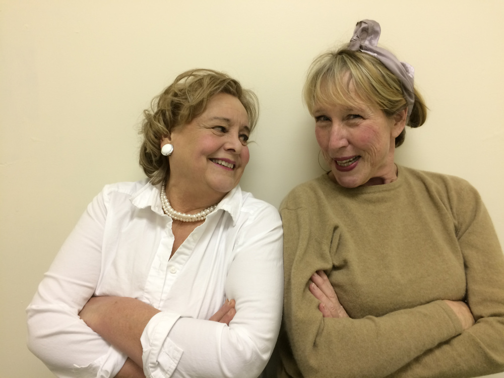 "Carolyn Smith, left, and Elyse Andrews portray Lucy and Ethel in the ""I Love DIVA"" Show opening Friday, Feb. 24, at the RFA Lakeside Theater in Rangeley."