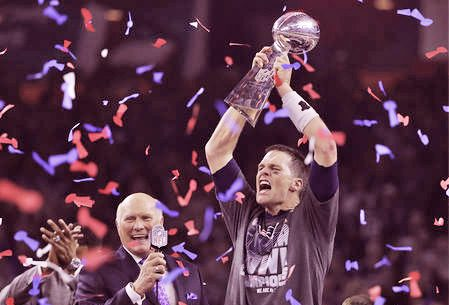 Could it be? Could Patriots fans in Maine get up close to the trophy that Tom Brady held aloft after Sunday's Super Bowl win?