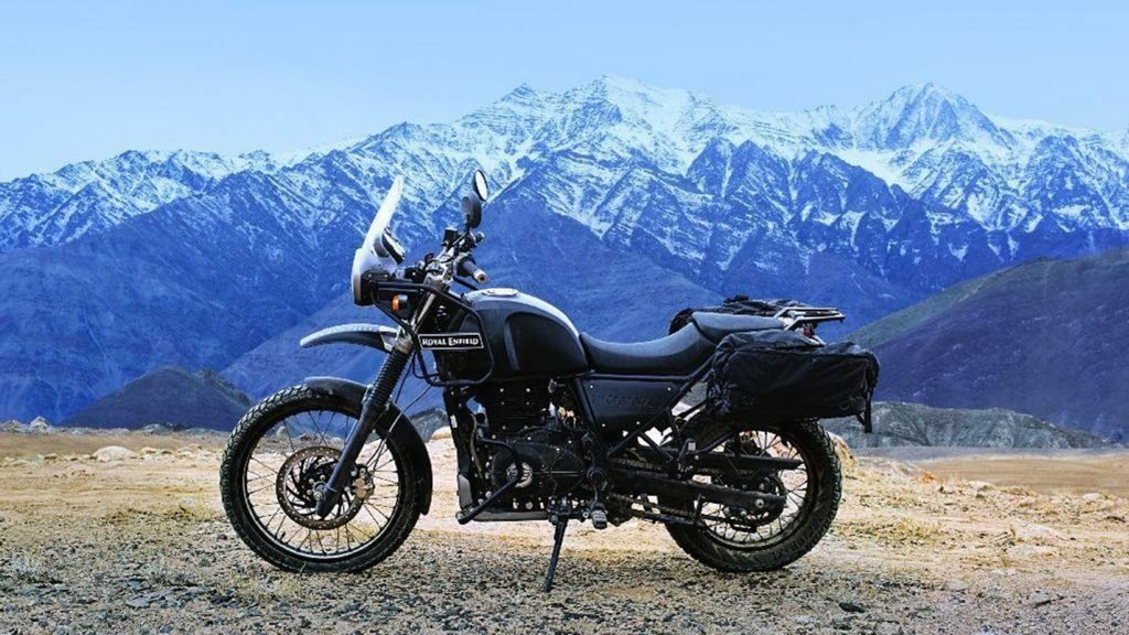 "The Royal Enfield motorcycle company enters the ""adventure riding"" segment with its small, single-cylinder Himalayan dual sport bike."