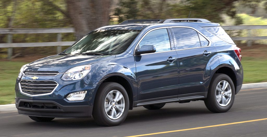 The Chevrolet Equinox will offer three turbocharged engines  linked to a new   nine-speed automatic transmission.