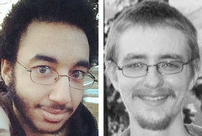 James Ford, left, and Michael Moore died in the fire that Dylan Collins set in their apartment building in September 2014.