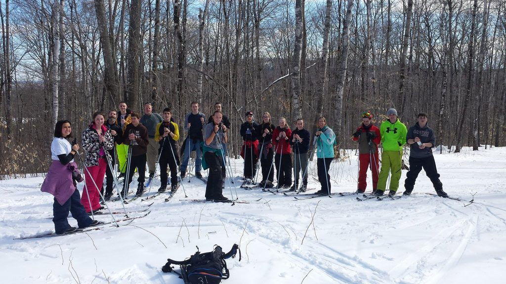 The Maine Outdoor Education Program teaches schoolchildren to Nordic ski, canoe and kayak, with an aim to foster a connection between personal health and environmental stewardship.
