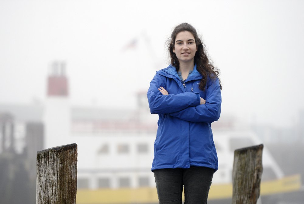 Julia Maine, an educator at the Gulf of Maine Research Institute in Portland, and her mother, geologist Carol White, are organizing the first Chebeague Island Aquaculture Festival for this summer.