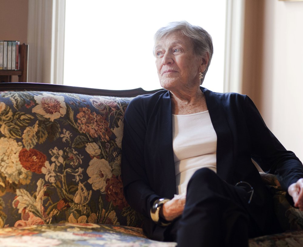 Paula Fox poses for a portrait in New York in 2011. Fox, whose novels enjoyed a recently revived popularity, died Wednesday. She was 93 and had been in failing health.