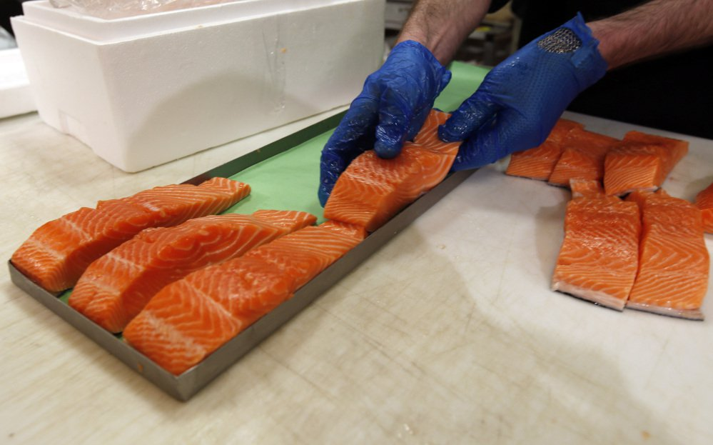 Canadian certified organic farm-raised king salmon filets are among the good foods that a study has concluded Americans don't eat often enough.