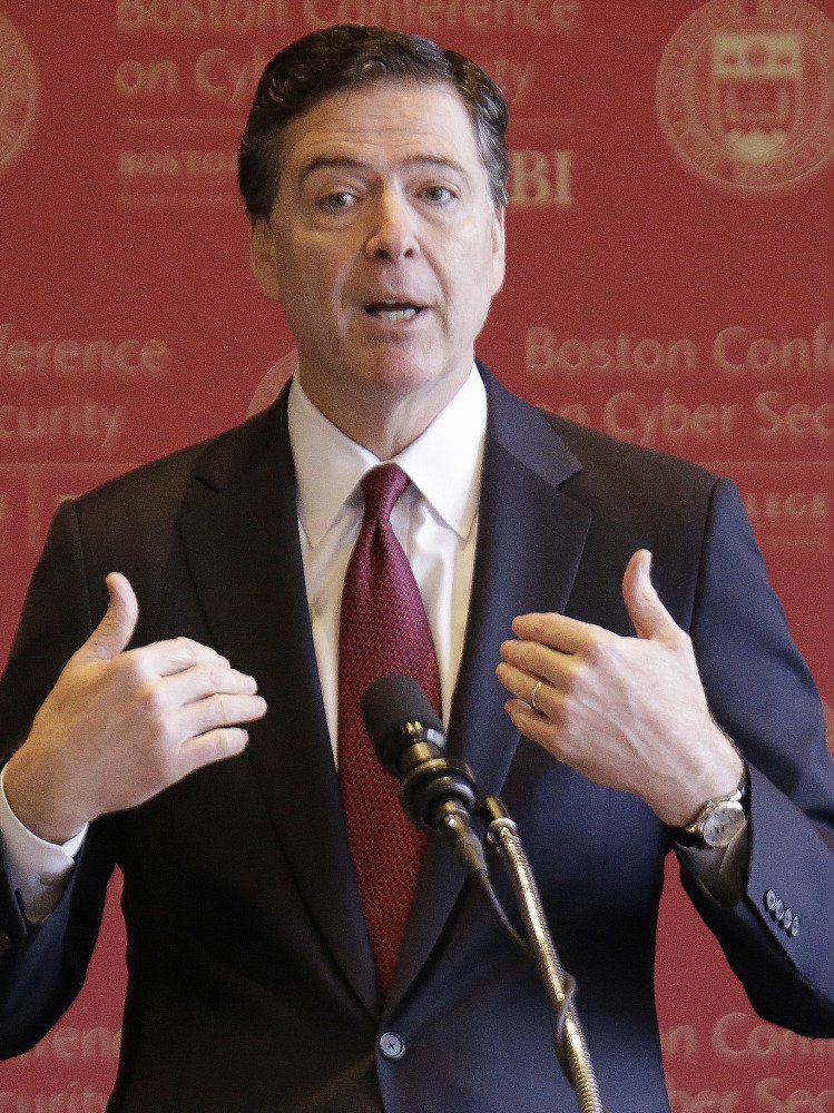 FBI Director James Comey has asked the Justice Department to publicly dispute President Trump's claim he was wiretapped before the election because Comey doesn't think it's true.