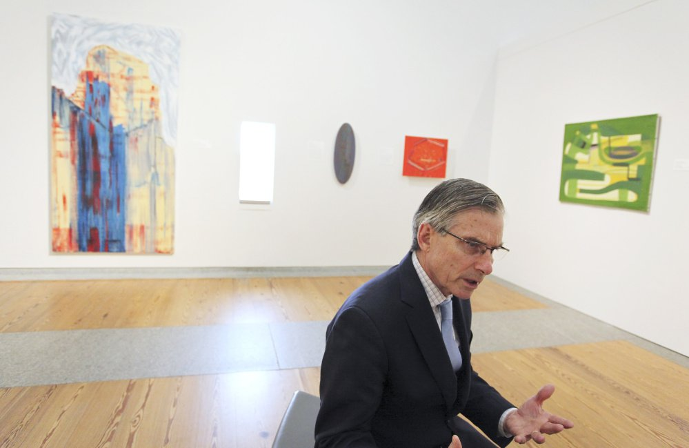 """We can have a big impact on these regional museums,"" says Adams, a former Colby College president. ""A little money goes a long way at a regional museum like the Portland Museum of Art."""
