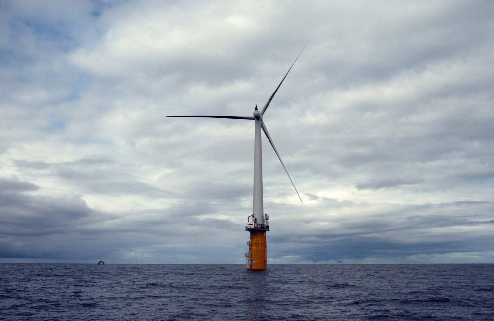 Statoil developed the first floating wind turbine, off Norway in 2009. In 2012, Statoil proposed a $120 million demonstration project off Boothbay Harbor. But it left Maine after Gov. LePage forced regulators to revisit a deal.