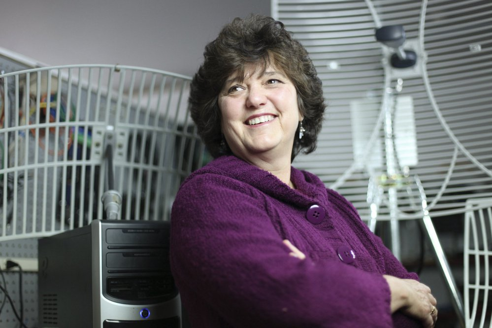 Susan Corbett, owner of Machias-based internet service provider Axiom Technologies, says,