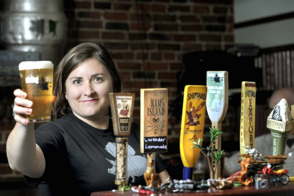 Allison Stevens of The Thirsty Pig says she sometimes has to refuse new brewers who want to place their beer at her Old Port bar.
