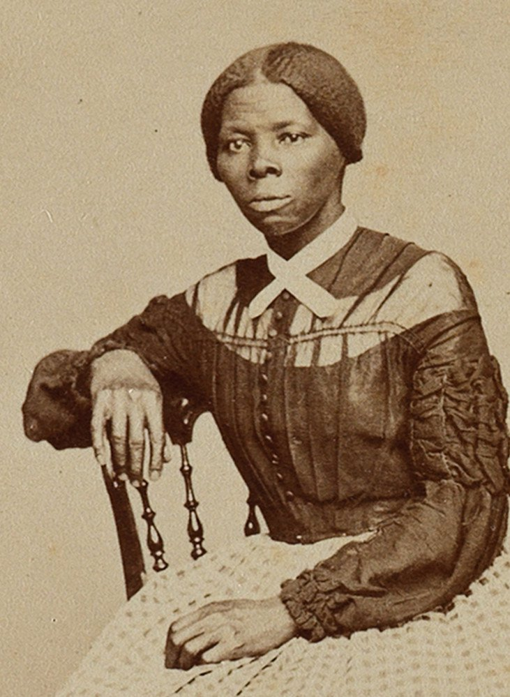 Harriet Tubman poses for a photograph in the 1860s.