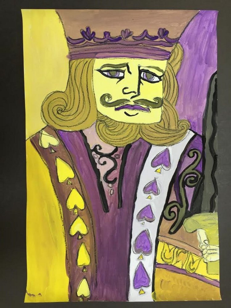 """""""Complementary Card"""" by Ellese, a sixth-grade student at Windsor Elementary School."""