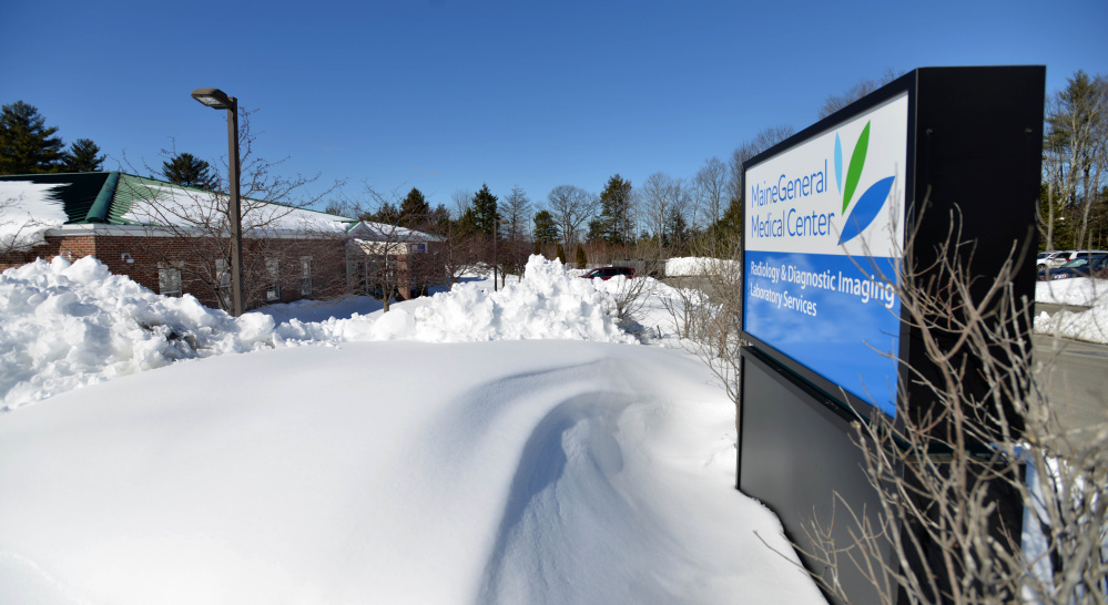 MaineGeneral Health's imaging and laboratory services, seen Friday, will move by May 1 from 107 FirstPark Drive in Oakland to the Thayer Center for Health on North Street in Waterville.