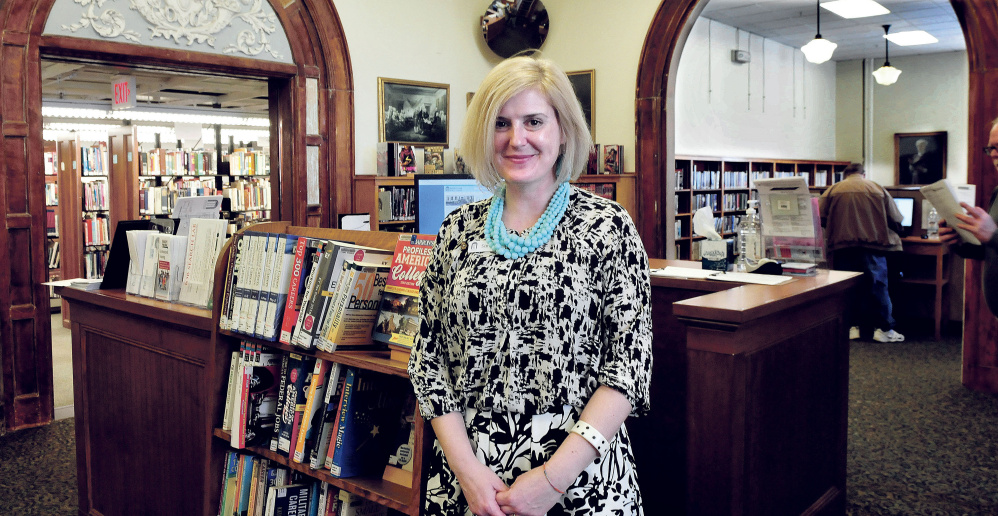 "Sarah Sugden, director of the Waterville Public Library, said the city library being named a finalist for the 2017 National Medal of Museum and Library Service award is ""a call for tremendous celebration"" and ""a call for action."""