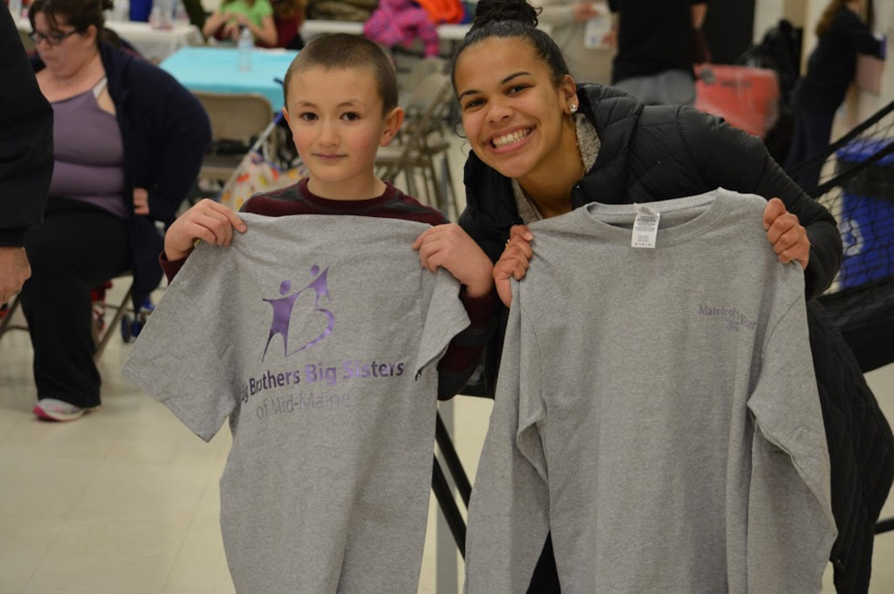 School-Based Match of the Year Awards were given to Trystan Mitchell and Sydney Costa, of Penobscot County, at the Big Brothers Big Sisters of Mid-Maine's annual program celebration.