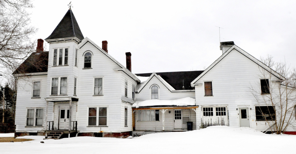 The former home of the Dr. Harrison Aldrich on Main Street in Unity might be renovated into a lodging establishment named
