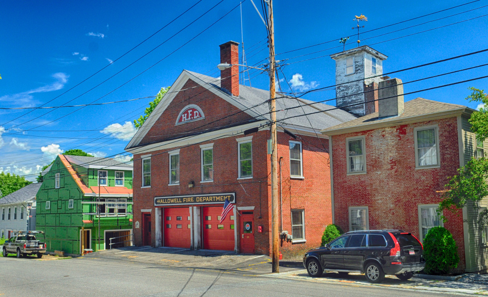 The current Hallowell fire station on Second Street, shown July 27, 2016, is an outdated building that can no longer accommodate modern firefighting needs, according to city officials.