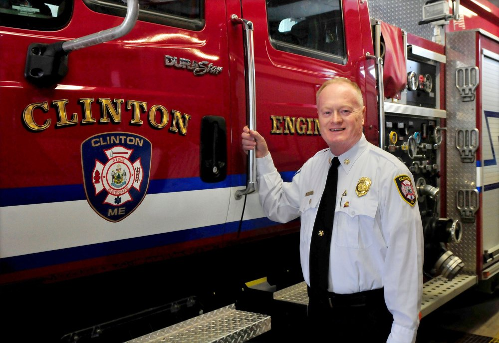 Clinton Fire Chief Gary Petley is retiring from a career as a firefighter and after 25 years as chief of his department.