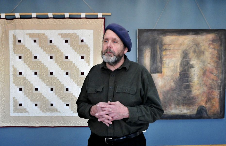 Artist and Waterville native Michael Libby discusses his art and project
