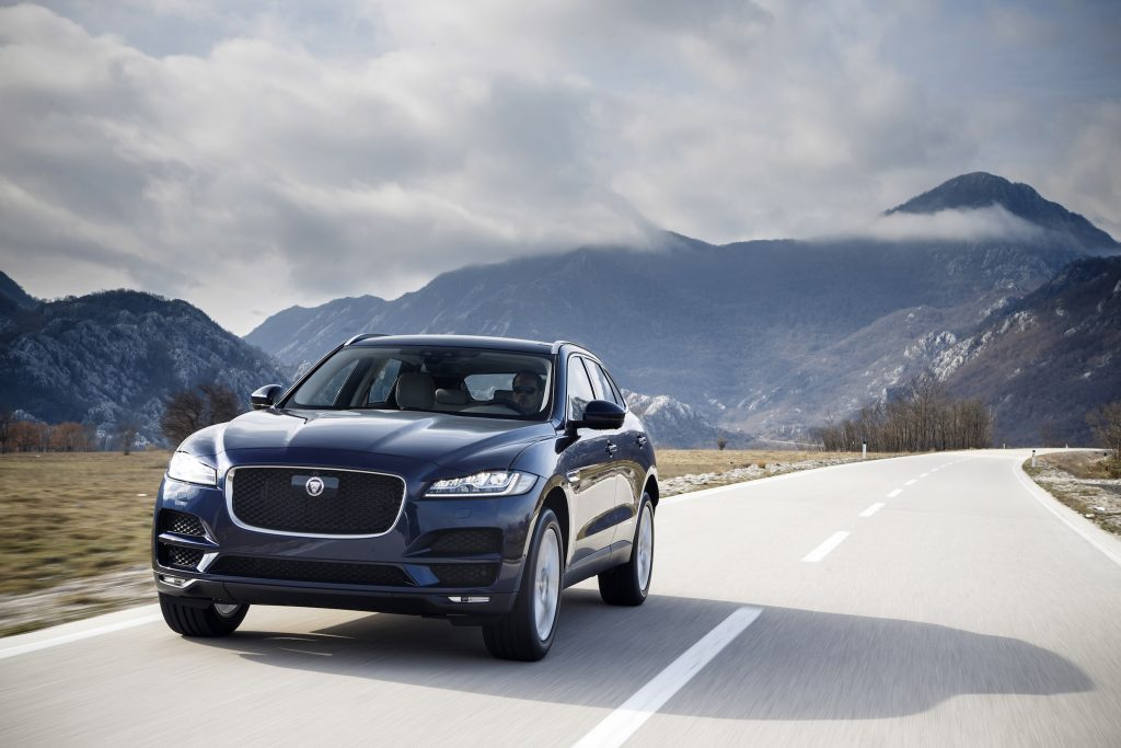 The 2017 Jaguar F-Pace has a good combination of good looks, luxury comfort and cargo capacity.