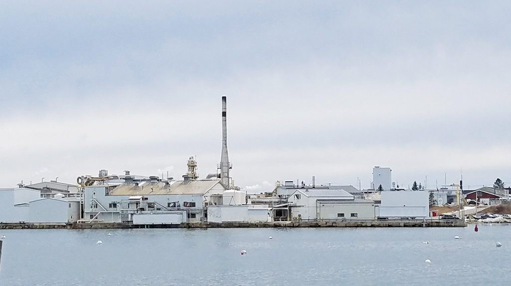 FMC's seaweed processing facility on the Rockland waterfront is the city's largest property taxpayer, with a valuation on its land, buildings and equipment at $20.9 million.