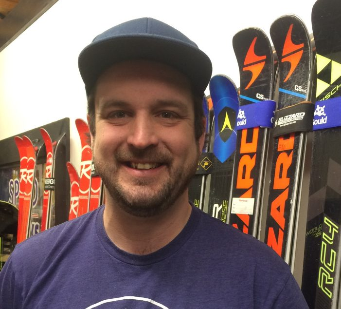 Will Tole is the ski tuner for Gould Academy, which means in the winter he works up to 70 to 80 hours a week tuning race skis. He says it's an art and a passion.