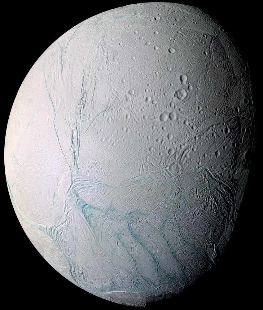 Geysers of Enceladus are found to contain hydrogen molecules.
