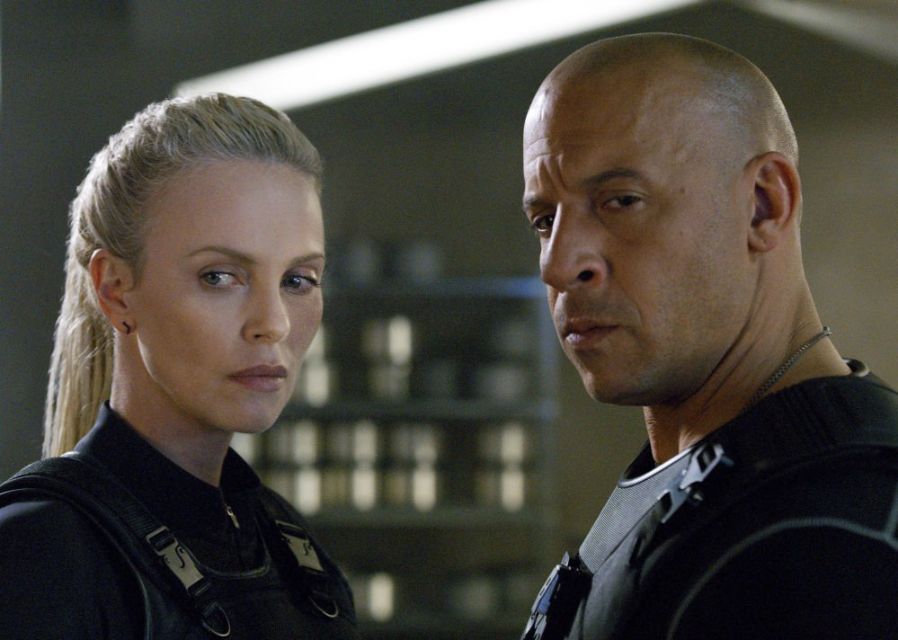 Charlize Theron and Vin Diesel star in
