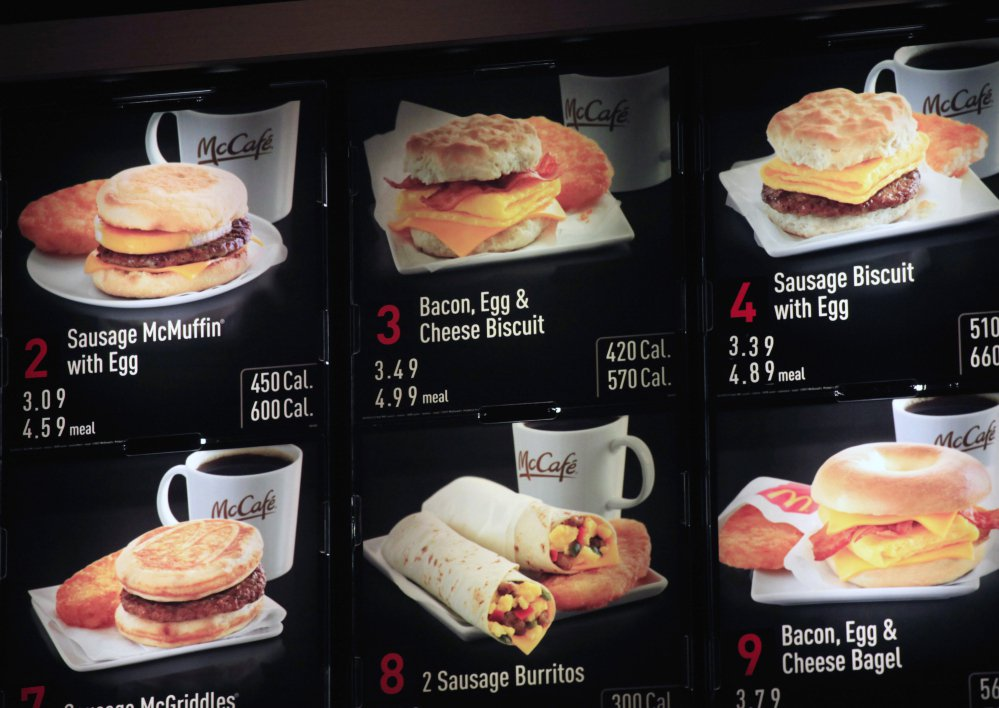 Fast-food restaurants are supposed to post correct nutrition information starting May 5, but some restaurants are lobbying to delay that change.
