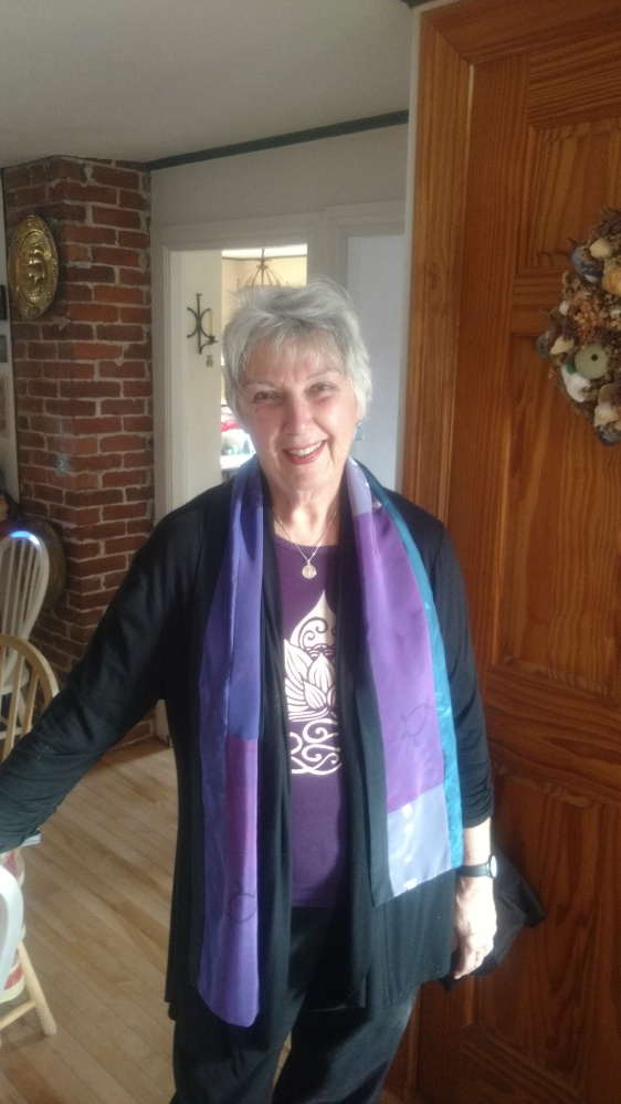 The Rev. Joan Lois Smith is the interim pastor at Augusta's South Parish Congregational Church UCC.