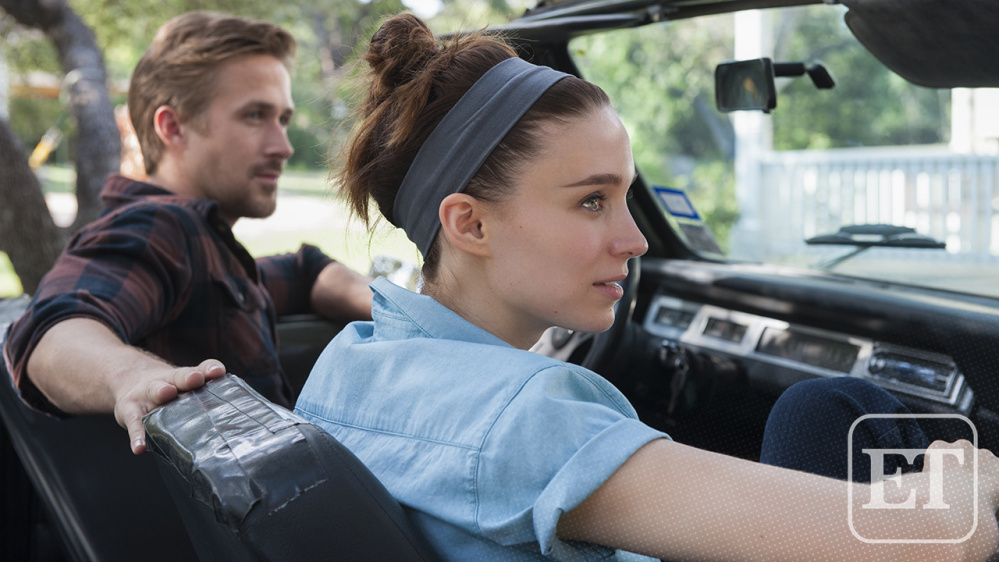 Ryan Gosling, left, and Rooney Mara in