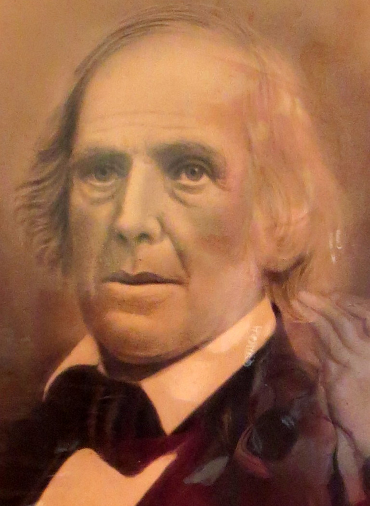 "Rev. David Thurston was the Congregational minister in Winthrop from 1807 to 1851. In 1833 he was a delegate at the founding convention of the American Anti-Slavery Society in Philadelphia and helped draft their ""Declaration of Sentiments."" He also served as a regional manager of the Underground Railroad in central Maine and spoke often at Abolitionist meetings. His son, Brown Thurston, was a noted publisher in Portland and also was active in the movement."