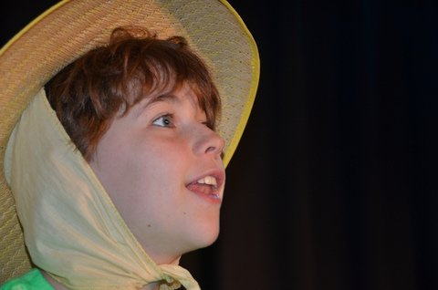 """Annie Giroux performs in last year's production of """"The Wizard of Oz."""""""