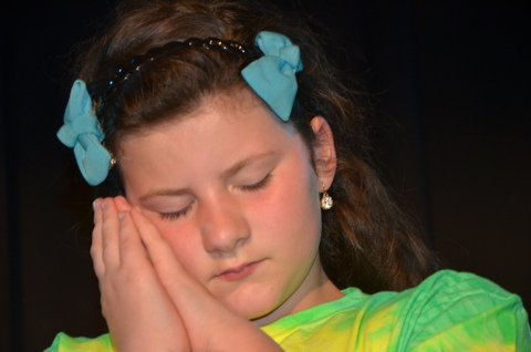 """Amara Beganny in a scene from last year's production of """"The Wizard of Oz."""""""