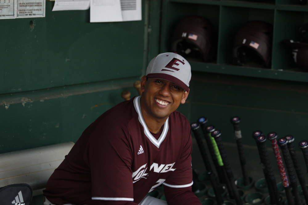 Edwin Thompson, a Jay native, is the head baseball coach at Eastern Kentucky University.