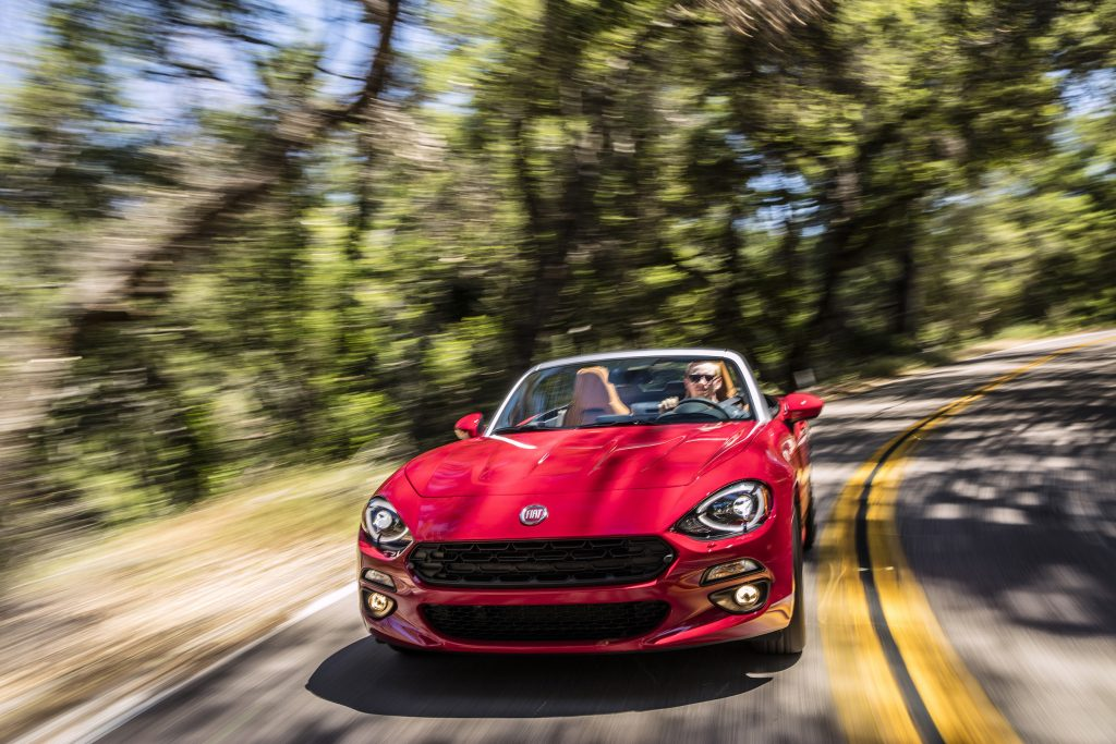 The 2017 Fiat 124 Spider Lusso.